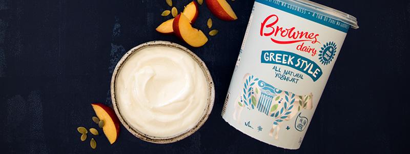 Brownes Foods Operations Greek Style Natural Yoghurt
