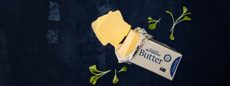 Fonterra Brands Beautifully Butterfly Unsalted Butter 250g